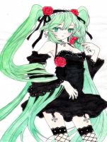 Hatsune Miku by xMidnight-Dream13x