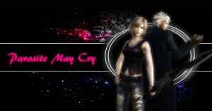 Parasite May Cry fanfiction cover by shadowaya4ever