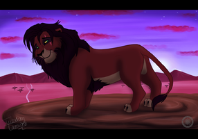 King Kovu by TuesdayTamworth
