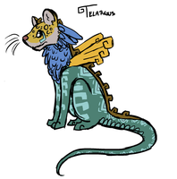 Telargus Doodle by TheseWeirdFishes
