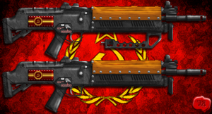 USSR Assault Rifle by Lord-Malachi
