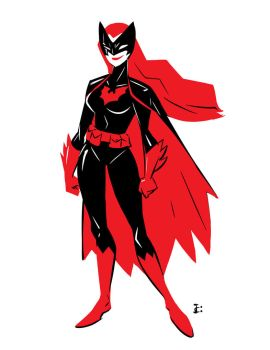 Batwoman sketch feb 2017 by Onikaizer