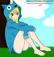 :: Lucy Heartfilia: by CrystleWhiteWolf