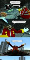 Robotnik and the Roboticizer by MeltingMan234