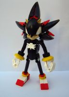 LEGO Shadow the Hedgehog by Sparkytron