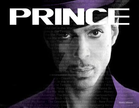 Prince Poster by MonicaJohnson0647