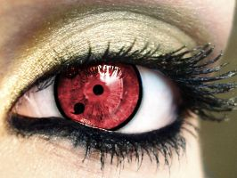 First Stage Sharingan Eye by Gamergirl343