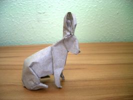 Rabbit - Origami by mitanei