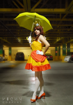 Princess Daisy cosplay by Queen-Stormcloak
