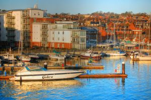 Cowes Yacht Haven by Tangent101