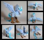 Articuno plushie by Eyes5
