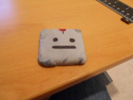 Clayman Eraser by RedMetaKnightess