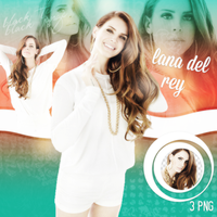 PNG Pack(296) Lana Del Rey by BeautyForeverr
