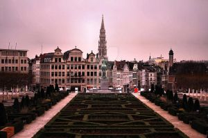 Brussel Library park by rockscorp