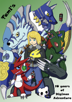 ++10 Years of Digimon++ by Tamersa