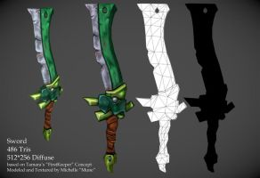 LP Sword FK Concept by PolyMune