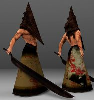 Sexy Pyramid Head DL by ZayrCroft