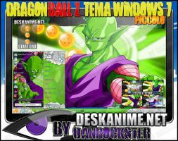 Piccolo Theme Windows 7 by Danrockster