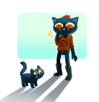 Mae Borowski (Night in the woods) by Yodeki
