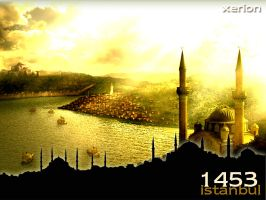 Istanbul in 1453 by Xeri10