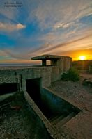 Bunker at Sunset by DanielleMiner