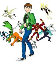 Ben 10 Ultimate Alien, 10 primeros by Al3kspower