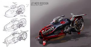 JET MOTO redesign by Stealthtiger
