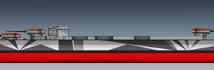 KMS TIRPITZ PORT SIDE PROFILE wip by ERIC-ARTS-inc