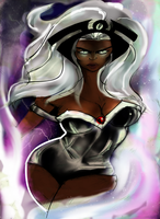Storm X Men Ororo Munroe by numythology