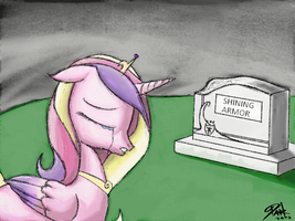 Crying Cadance by DarkAudacity