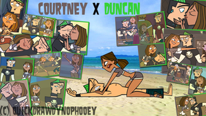 :+:Total Drama Couple Pix Wallpaper-Duncney:+: by QuickDrawDynoPhooey