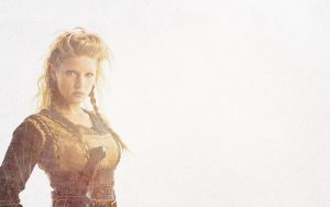 Lagertha wallpaper by omer-oGD