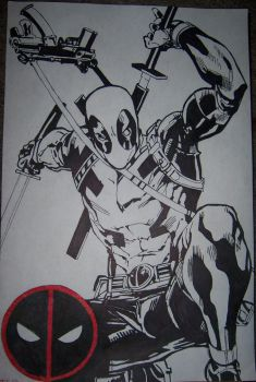 Deadpool by TheInkVillain