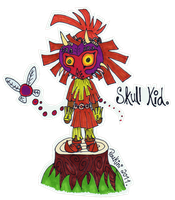 - Skull Kid. by Poukini