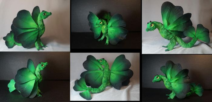 Green clower dragon Patrick 1 by kessan
