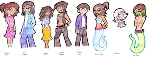 FOP: Gender Bender Time by KPenDragon