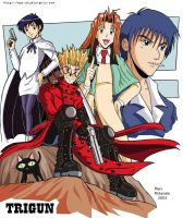 Trigun Four by RedShoulder