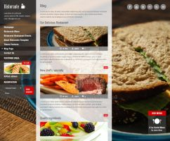 Blog Page of Ristorante Responsive WP Theme by ait-themes