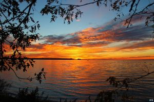 Fall Sunset Series #52 by LifeThroughALens84