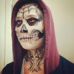 Freestyle Skull Makeup by larahawker