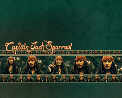 Jack Sparrow Wallpaper by CartoonJessie