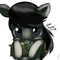 Octavia likes corn on the cob by imsokyo
