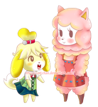 Isabelle and Reese by ZantChan