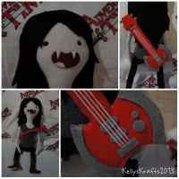 Adventure Time Marceline Plush by KellysKrafts