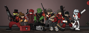 My Team Fortress 2 by Leonidash15