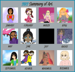 -2012 Art Summary- by Ixchelia