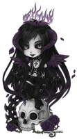 Rex Tenebrarum chibi by zero081090