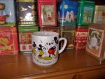 Hubby's Mickey Cup - A Happy Memory by MoonyMina