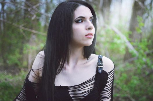 Don't Go Away by Mademoiselle--Black
