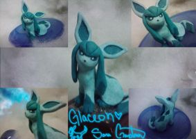 Clay Glaceon Comp. by Sara121089